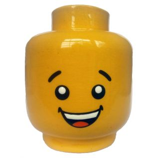 Lego Head (Planter)