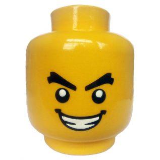 Lego Head (Tealight Holder)