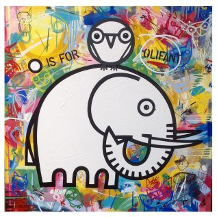 O is for Olifant